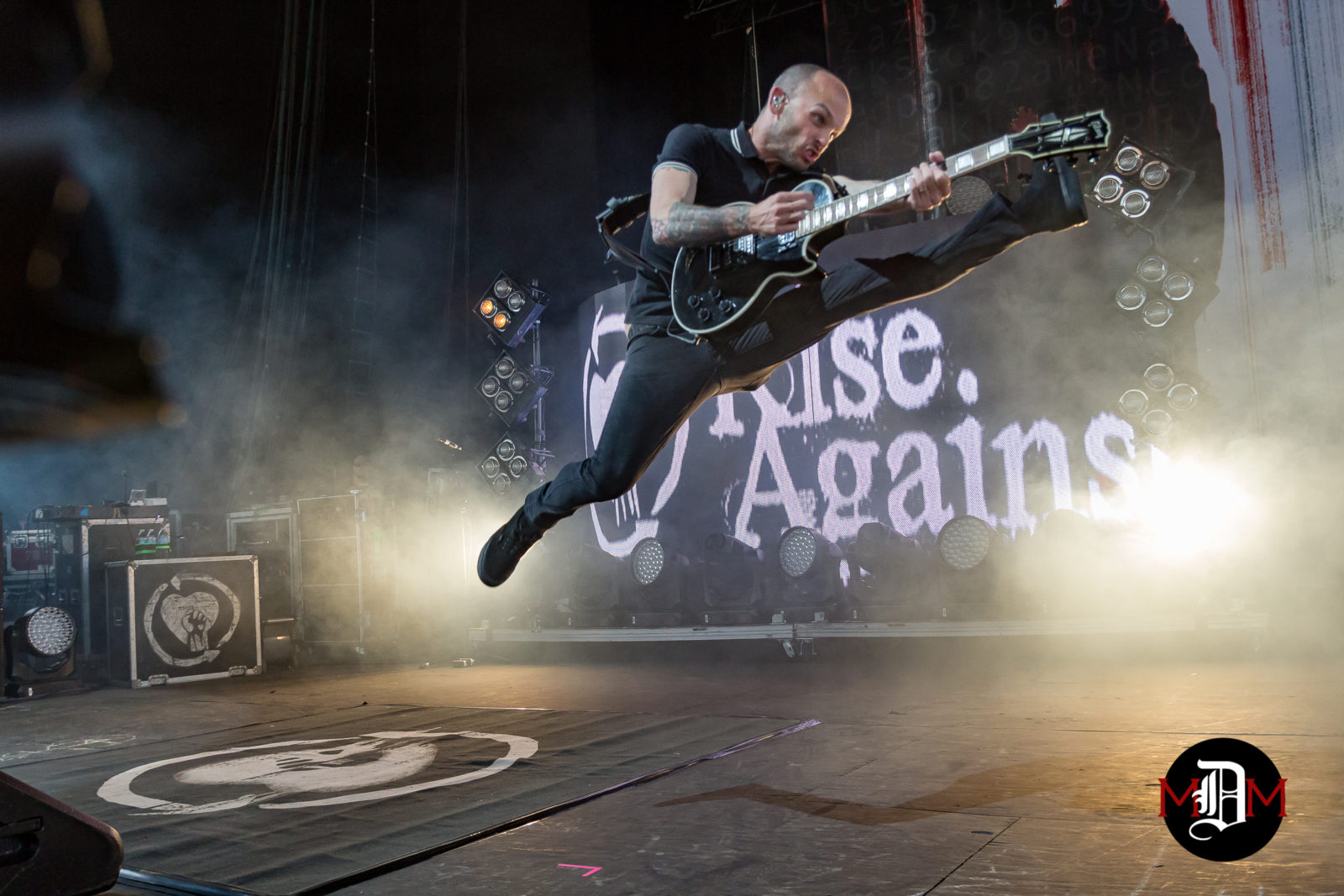 Rise Against Freedom Hill 6-10-17 (Zach Blair) pictured